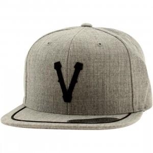 Vans Victorville Snapback Cap (gray / heather gray)