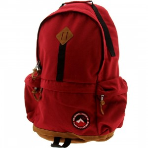 Vans Alpe D Huez Backpack (red / deep red)