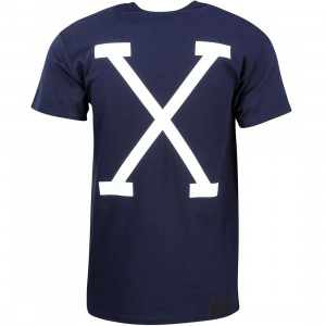 10 Deep Men Straight Razor Tee (navy)