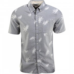 Vans La Palma Short Sleeve Shirt (gray / new charcoal)