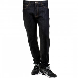 BAIT Basic Taper Jeans (navy / indigo)