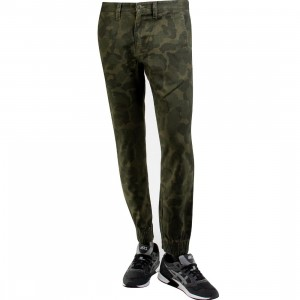 Vans Excerpt Chino Pegged Pants (camo / bubble camo)