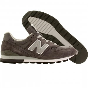 New Balance Men M996CGY - Made In USA (gray / silver)