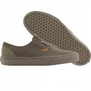 Vans Men Era Decon CA - Mono Leather (gray / frost rubber)
