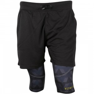 10 Deep Men False Trainer Shorts (black)