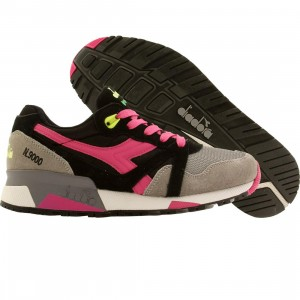 Diadora Women N9000 NYL (black / ice grey / magenta)
