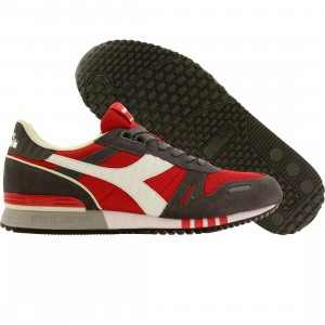 Diadora Men Titan II (red / roccoco red / pewter)
