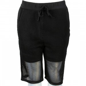 Dimepiece Women Mesh Shorts (black)