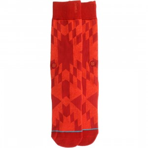 Stance Little Rock Socks (red)