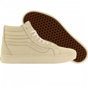 Vans Men Sk8-Hi Cup CA - Leather (white / whisper white)
