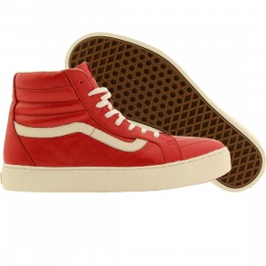 Vans Men Sk8-Hi Cup CA - Leather (red / chilli pepper)
