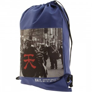BAIT x Street Fighter Akuma SDCC Exclusive Sachet Bag (navy)