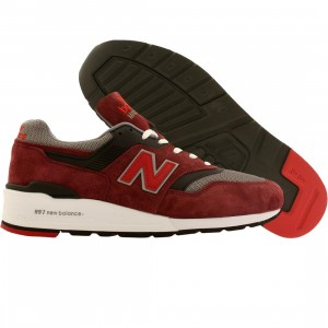 New Balance Men M997CRG - Made In USA (burgundy / gray)