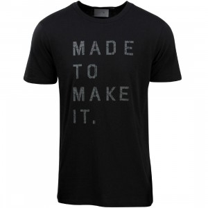 Puma Men Stampd Print Tee (black)