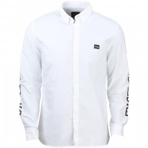 Barney Cools Men OE Long Sleeve Shirt (white)