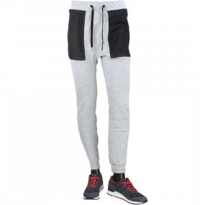 Zanerobe Men Montage Dropshot Zip Jogger Pants (gray / grey marle)
