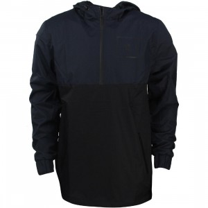 Zanerobe Men Tally Pullover Jacket (navy / dark navy / black)