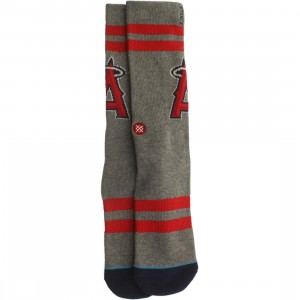 Stance x MLB LA Angels LTBU Socks (red / gray)