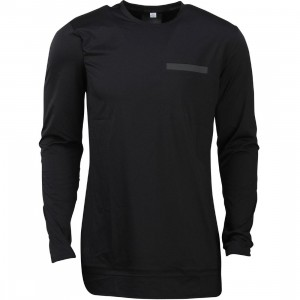 Puma x Stampd Men Oversize Long Sleeve Tee (black)