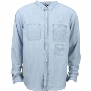 10 Deep Redtail Workshirt (blue / light blue)