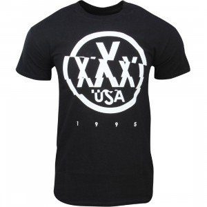 10 Deep Triple X Usa Tee (black)