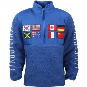 10 Deep Global Tech Fleece Jacket (blue)