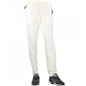 10 Deep Mesh Tech Sweatpants (white / off white)