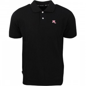 BAIT x Street Fighter Akuma Polo Shirt (black)
