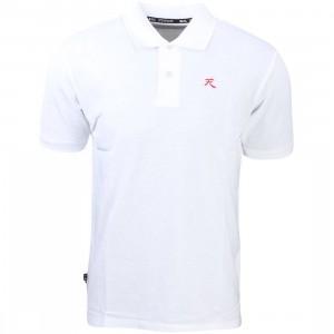 BAIT x Street Fighter Akuma Polo Shirt (white)