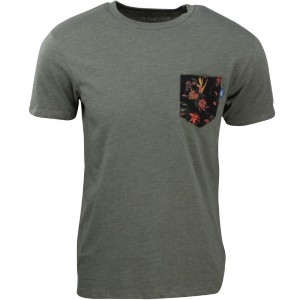 Vans Men Death Bloom Pocket Tee (olive)