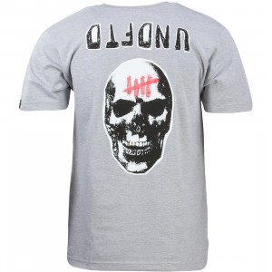 Undefeated Men Sudden Death Tee (gray / heather)