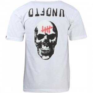 Undefeated Men Sudden Death Tee (white)