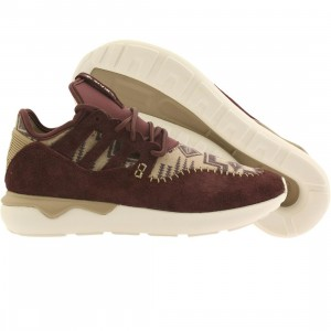 Adidas Men Tubular Moc Runner (burgundy / night red / hemp / off white)