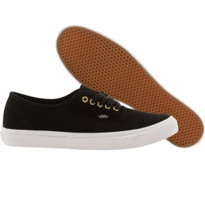 Vans Men Authentic Slim Gold Pop (black / twill)