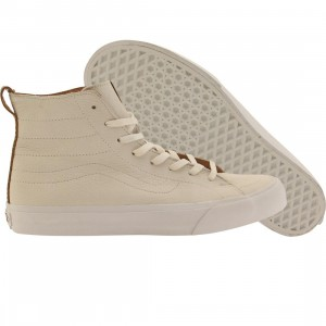 Vans Men Sk8-Hi Deconstructed California - Premium Leather (white / winter)