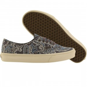 Vans Men Authentic California - Paisley (gray / charcoal)