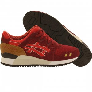 Asics Tiger Men Gel-Lyte III (burgundy / fiery red)