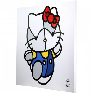 BAIT x David Flores 24 Inch Canvas - Hello Kitty (white / blue)