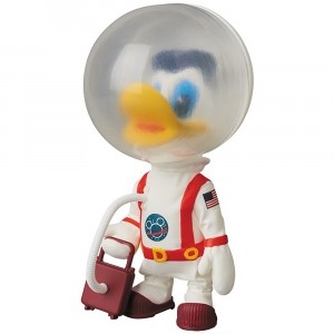 PREORDER - Medicom UDF Disney Series 8 Astronaut Donald Duck Vintage Toy Ver Ultra Detail Figure (white)