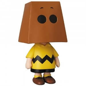 PREORDER - Medicom UDF Peanuts Series 10 Charlie Brown Grocery Bag Ver Ultra Detail Figure (brown)