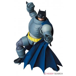 PREORDER - Medicom MAFEX The Dark Knight Returns Armored Batman Figure (gray)