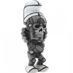 BAIT DesignerCon Exclusive David Flores Deathead Smurks Figure (greyscale)