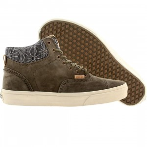 Vans Men Era Hi Ca Pig Suede (gray / tarmac / denim geo)