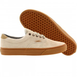 Vans Men Era 59 Ca Hairy Suede (gray / pelican)