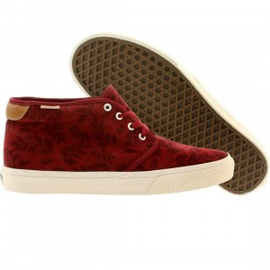 Vans Men Chukka Boot 69 Ca Leaf Suede (burgundy / ruby wine)