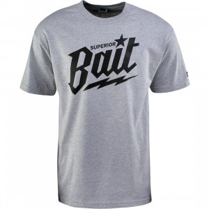BAIT Superior BAIT Tee (heather grey / black / black)