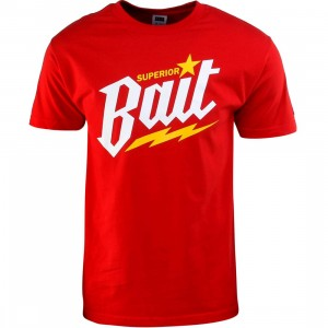 BAIT Superior BAIT Tee (cardinal red / white / yellow)