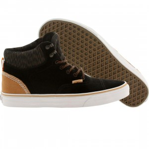 Vans Men Era Hi Ca Suede Multi (black / burnt orange)