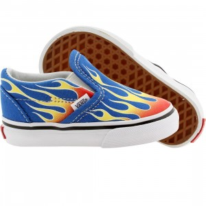 Vans Toddlers Classic Slip-on (red / flame / skydiver)