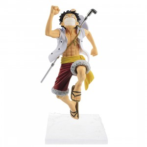 PREORDER - Banpresto One Piece Magazine Figure A Piece Of Dream No. 1 Vol. 3 Monkey D. Luffy Figure (white)